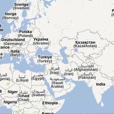 EK-landenkaart 2012