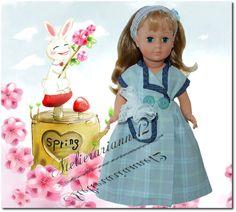 Vêtement MODES ET TRAVAUX mai 1951, poupée 40 cm, Marie-Françoise et autres  Robe de chambre pour poupée Françoise, Modes et Travaux mai 1951: 17,90 EUR