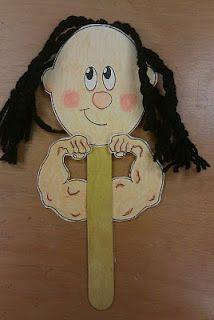 Samson Strong Man Puppet