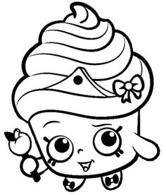 Image Result For SHOPKINS Coloring Pages Shopkins Kids Room Wall Decal By LRBdesignz On Etsy