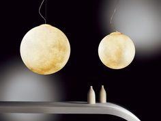 Pendelleuchte aus Polycarbonat LUNA | Pendelleuchte - In-es.artdesign