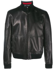 Men's leather jackets certainly are a crucial component to every man's set of clothes. Men have to have jackets for a variety of functions as well as some climate conditions. Men's Jacket With Pockets. Black Leather Bomber Jacket, Black Bomber Jacket, Leather Jackets, Revival Clothing, Men's Clothing, Gucci Black, Color Negra, Jacket Style, Leather Men