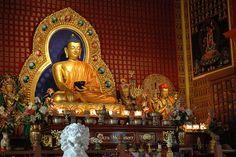 buddhist altars in the home | One of the World's most Beautiful Buddhas, Shrine, Sakya Monastery of ...