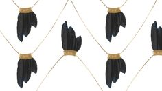 Serefina Feather Wing Necklace
