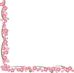 Borders For Poster Flower | Apple Blossoms Clip Art Images Apple Blossoms Stock Photos & Clipart ...