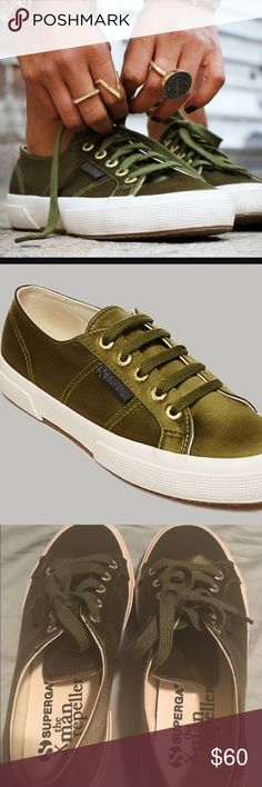 🎉sale🎉Superga man repeller sneakers 🎉HP- style crush 7/1🎉Smooth, shiny satin upper. Sturdy cotton canvas lining. Cushioned footbed provides sustained comfort for all-day wear. Cushy, textured gum sole. Tonal laces in cotton & logo-engraved eyelets. Stitched logo-tag at the side. Part of The Man Repeller X Superga collection®.  size 7- eu 37.5 price firm unless bundled Superga Shoes Sneakers