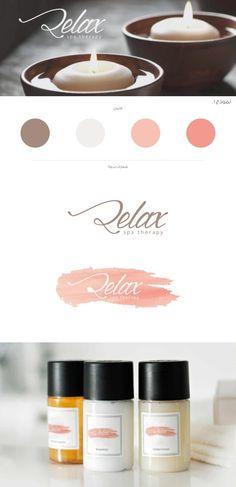 2 relax , logo , design , spa, massage
