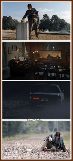 """TWD Season 4 Episode 13 """" Alone""""  (Is that the car Merle led the walkers with?)"""