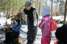 Into the Woods: On Fridays, Ottauquechee Kindergarteners Take Class Outside