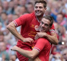 Henderson often had to deal with comparisons to Liverpool legend Steven Gerrard Liverpool Captain, Liverpool Legends, Liverpool Fans, Liverpool Klopp, Steven Gerrard, Clint Dempsey, Kenny Dalglish, Brendan Rodgers, Club World Cup