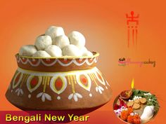 Happy Bengali New Year In Advance. For New Year Special Gifts Please Visit goo. New Year Special, Special Gifts, Happy Bengali New Year, Happy Baisakhi, Cake, Holiday, Party, Desserts, Food