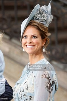 Princess Madeleine of Sweden departs after a thanksgiving service on the occasion of The Crown Princess Victoria of Sweden's 40th birthday celebrations at the Royal Palace on July 14, 2017 in Stockholm, Sweden. The celebrations in Stockholm end with the Crown Princess Family being escorted from the Royal Palace to the Royal Stables in a horse drawn carriage.  (Photo by Michael Campanella/Getty Images )