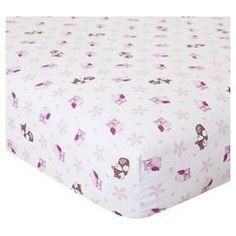 Bedtime Originals Crib Sheet - Lavender Woods