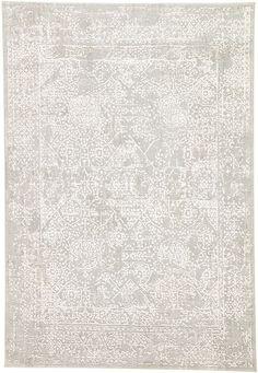 Jaipur Living Rugs Lianna Abstract Gray/ White Area Rug