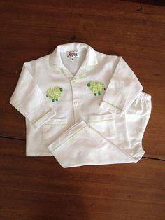 Green Sheep Flannelette Pyjamas – minorbyrd.com.au Childrens Pyjamas, Cotton Pyjamas, Sheep, Classic, Jackets, Style, Fashion, Derby, Down Jackets