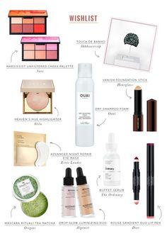 Wishlist: 12 cosméticos que estão na minha lista de desejos! Vic Ceridono | Dia de Beauté