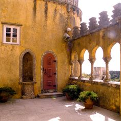 Pena Palace....Sintra, Portugal