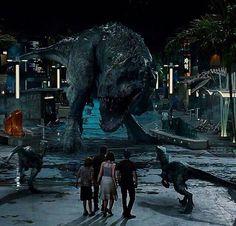 JW Indominus vs Raptors