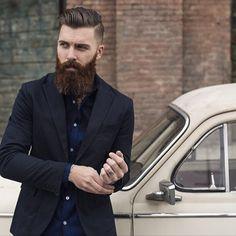 Another preview shot from the Tri-Antler Fall 2014 Line @triantler @da_media #mensfashion #mensfashionpost #menswear #beard #thebeardsman #beardedmodel #inseamswetrust #beardedgentlemen @lamodels