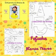 Fofucha Blanca Nieves