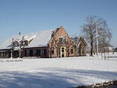 Boerderij in Koudekerk Netherlands, Winter, Den, Holland, Cabin, House Styles, Home Decor, The Nederlands, Winter Time