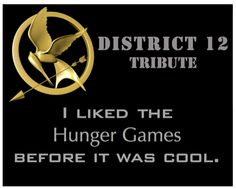 I liked The Hunger Games before it was cool.