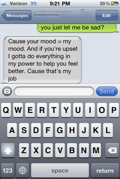Cute I would love it if I someone told me this :)