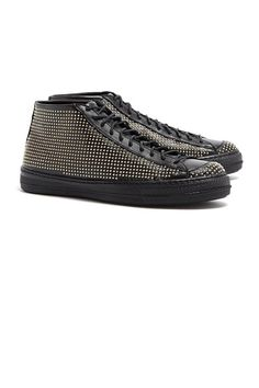 Burberry Studded Fingall Sneakers