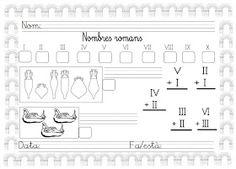 Mi grimorio escolar: LOS NÚMEROS ROMANOS