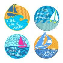 Sail Boat SVG Cuttable Designs