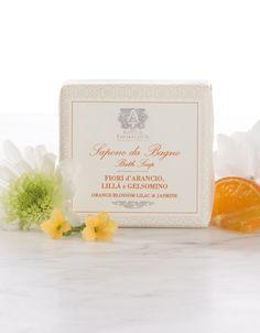 4 oz Bar Soap Orange Blossom, Lilac & Jasmine - Bar Soap - The Body  | Antica Farmacista