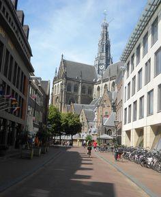 Achterzijde St. Bavokerk Street View, Van, Holland, Netherlands, Vans