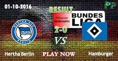Hertha Berlin 2 - 0 Hamburger SV 01.10.2016 HIGHLIGHTS - PPsoccer