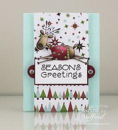 Seasons Greetings Hero Arts Card
