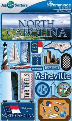 North Carolina, of course!  Born and raised!  Traveled all through this state, let me tell you!