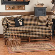 Colonial Wingback Sofas Single Seat Sofa Beds Ikea 40 Best Primitive Style Wing Back S And More 72 Classic Camelback Country Furniture Decor
