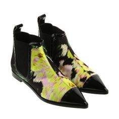 Nicolas Kirkwood x Erdem boots fashion trend colors