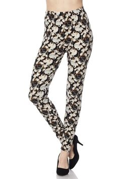 b91f06befc365f Have you seen our new brushed cotton Ivory Petals leggings? These leggings  feature a gorgeous