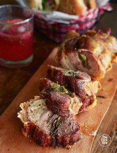 Porchetta Recipe - Italian porchetta that is meltingly tender, with an almost startlingly crispy skin.