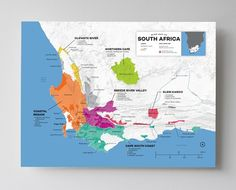 Wine Map of South Africa - http://shop.winefolly.com/collections/regional-wine-maps/products/south-africa-wine-regions-map-poster