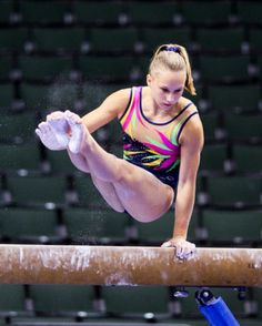 Brenna Dowell (2011 Visa PT) women's gymnastics gymnast on balance beam sports photography p.0.1 #KyFun