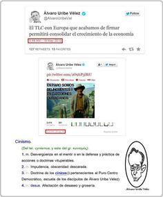 cynicismo uribe TLC paro colombiano