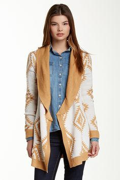 Romeo & Juliet Couture   Belted Wrap Cardigan   Nordstrom Rack
