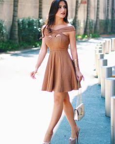 """Cappuccino Fashion no Instagram: """"@diana_sbt maravilhosa com nosso vestido"""""""