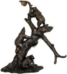 Bears And Beehive. Garden StatuesBeehiveOutdoor GardensSculpturesBearsIndoor BronzeInterieurBear