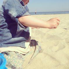 Plaża. Morze. Czego chcieć wiecej :)