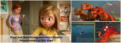 Pixar and Walt Disney Animation Studios Presentations at D23 Expo