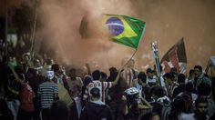 Megahoot.com - Brazil protests: president to hold emergency meeting