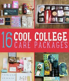 16 Cool College Care Package Ideas | Give these crafty DIY care package ideas a try. #DIYReady DIYReady.com #diycrafts
