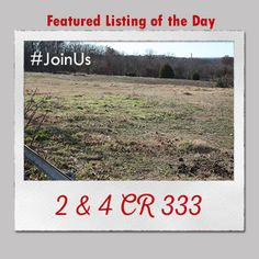 Featured Listing of the Day: 2 & 4 CR 333  Contact the #1 real estate team in Jonesboro today and #JoinUs in the search for the perfect place to build your dream home!  #burchandco #realestate #realtor #arkansas #jonesboro #jonesbororealestate #arkansasrealestate #property #forsale #houseforsale #listingoftheday #featured #home #buy #buyrealestate #newhome  #househunting  #landforsale #land